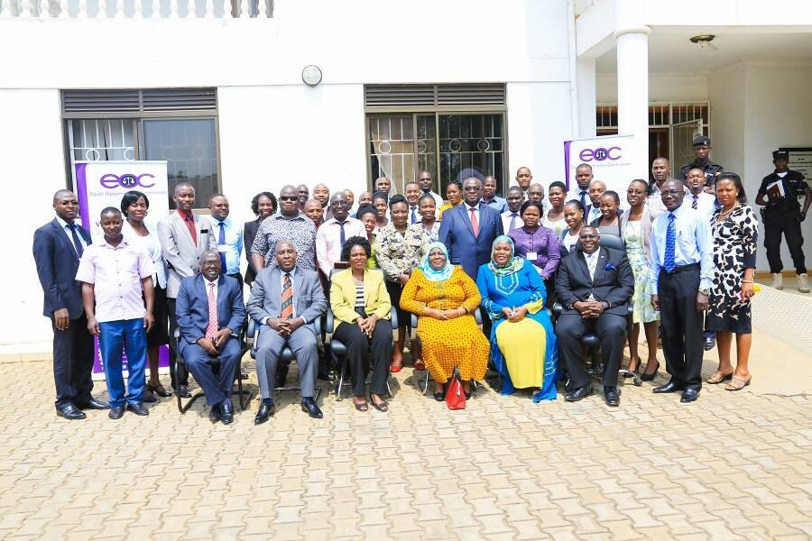 MINISTER OF GENDER VISITS EQUAL OPPORTUNITIES COMMISSION