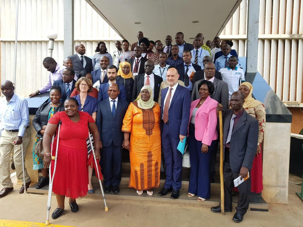 Eoc Empowering persons with disabilities in Uganda